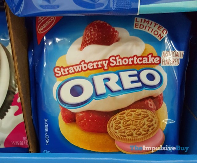 Limited Edition Strawberry Shortcake Oreo Cookies