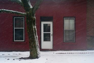 Snowing on Germain Street