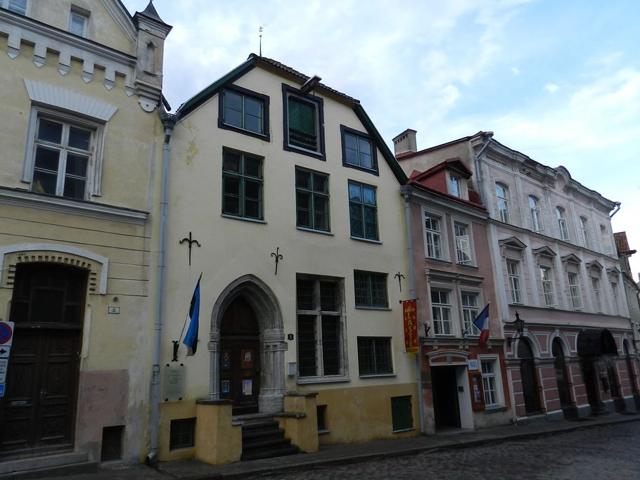 Reval Ciudad Baja Casco Histórico Tallinn Estonia 20