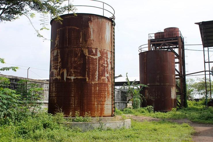 Main di Malang - Pabrik Lama - Penampungan besar