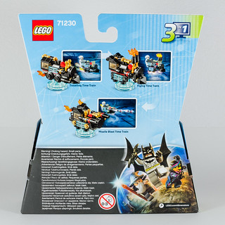 REVIEW LEGO Dimensions 71230 Doc Brown Fun Pack 2