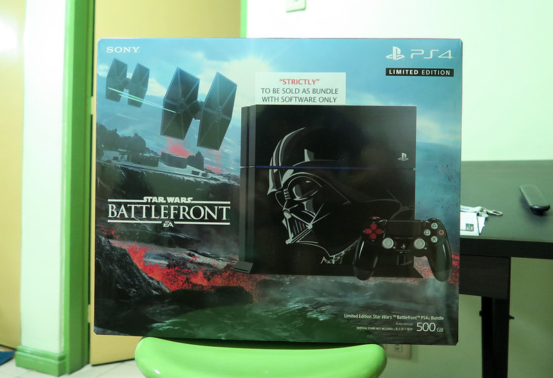20151206_021823 Sony PS4 Battlefront Edition