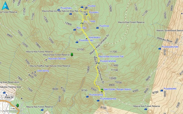 Mauna Kea Humuula Trail
