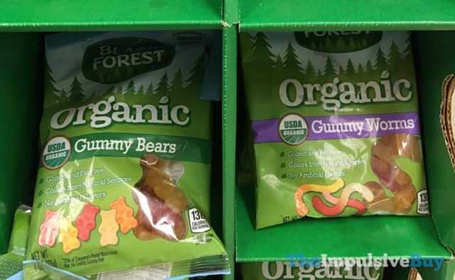 Black Forest Organic Gummy Bears and Gummy Worms