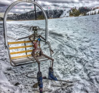 Robot skiing