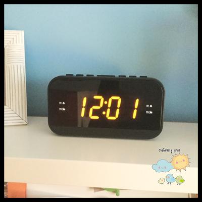 Reloj en la habitación de los niños (truco³)