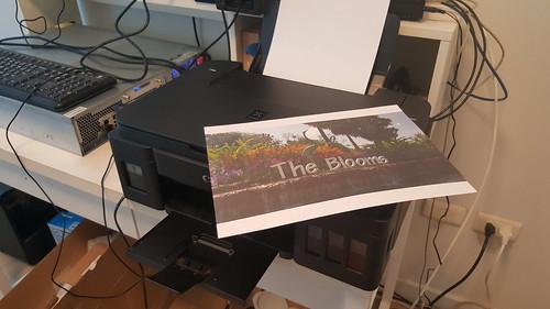 ลองพิมพ์ภาพสีแบบคุณภาพจัดเต็ม ใช้เวลา 3 นาที 54 วินาที