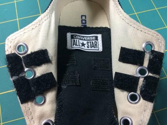 DIY Velcro Shoes