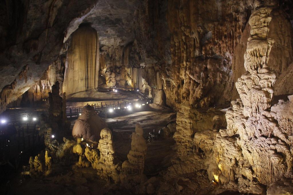 blandt verdens største huler i Vietnam