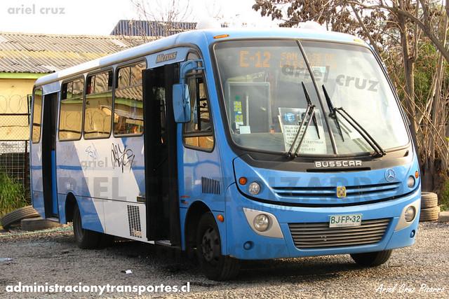 Transantiago - Unitran - Busscar Micruss / Mercedes Benz (BJFP32)