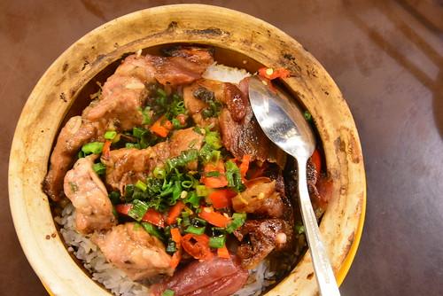 嚐囍煲仔小菜の臘味排骨飯