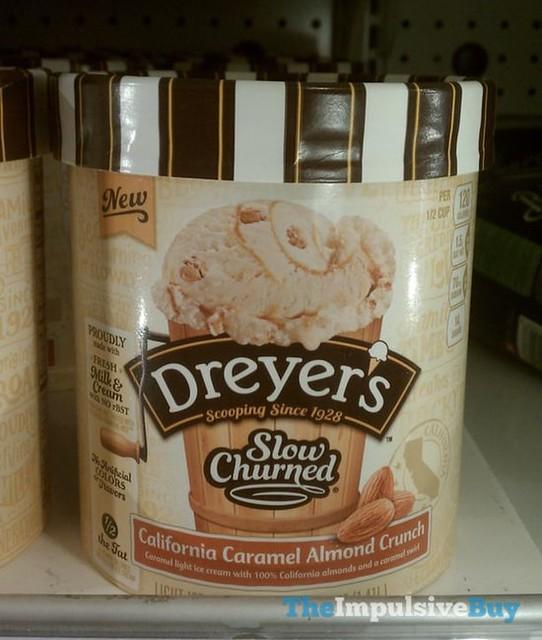 Dreyer's Slow Churned California Caramel Almond Crunch