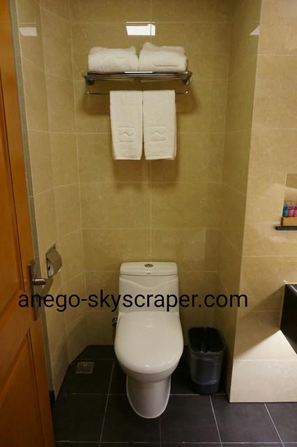 エアポートホテルのトイレ