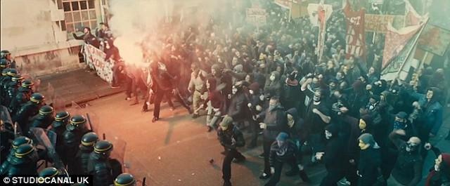 Bastille Day Movie Protest