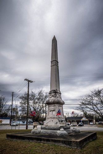 Barnwell Confederate Monument-001