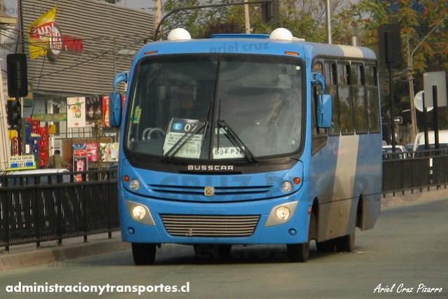 Transantiago - Unitran - Busscar Micruss / Mercedes Benz (BJFP26)
