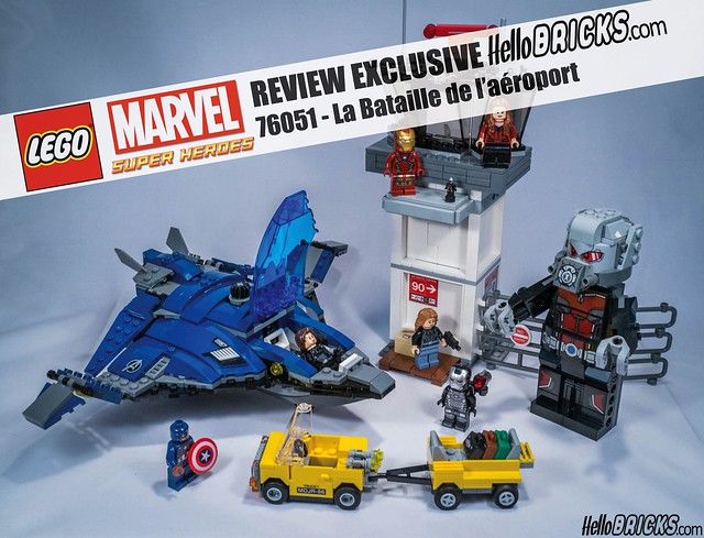REVIEW LEGO 76051