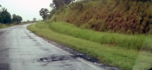 Buracos na rodovia