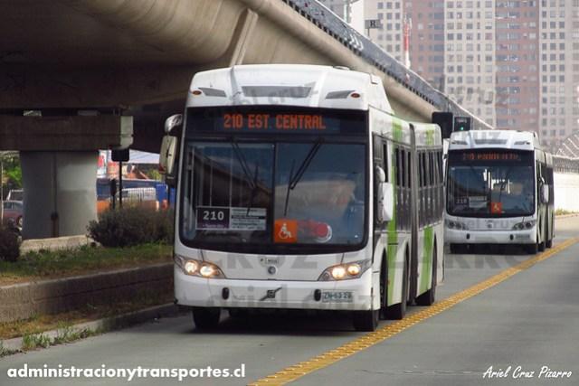 Transantiago (210) - Subus Chile - Caio Mondego LA / Volvo (ZN6329) (9035)