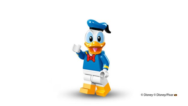 Lego Disney Minifigures Donald