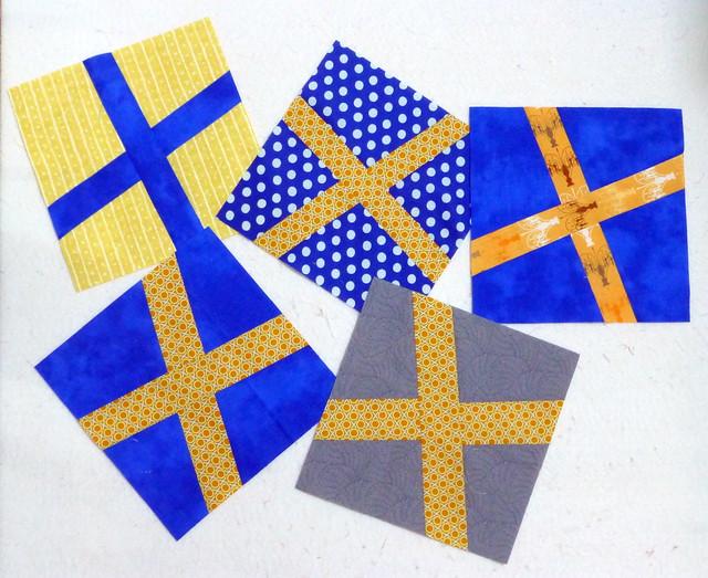 STB2 wonky crosses blocks for Sue Jan16
