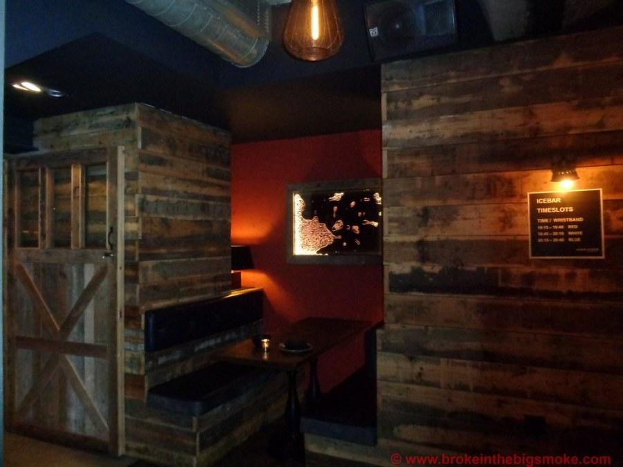 Bloggers Below Zero Ice Bar London Bar