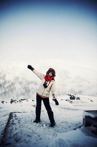 2016.02.23  看我歐行腿   阿呀~一不小心就從瑞典到了挪威, Narvik 小鎮遇見地理課本中的峽灣 12.jpg