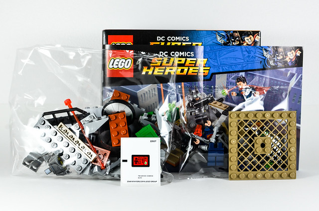 Review LEGO 76044 DC Comics Clash of the Heroes 03