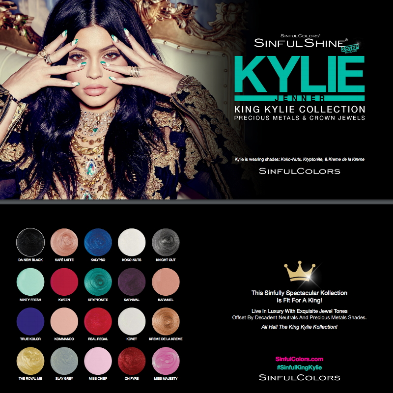 Kylie Jenner SinfulShine King Kylie Collection