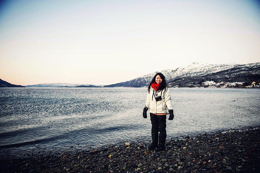 2016.02.23  看我歐行腿   阿呀~一不小心就從瑞典到了挪威, Narvik 小鎮遇見地理課本中的峽灣 02.jpg