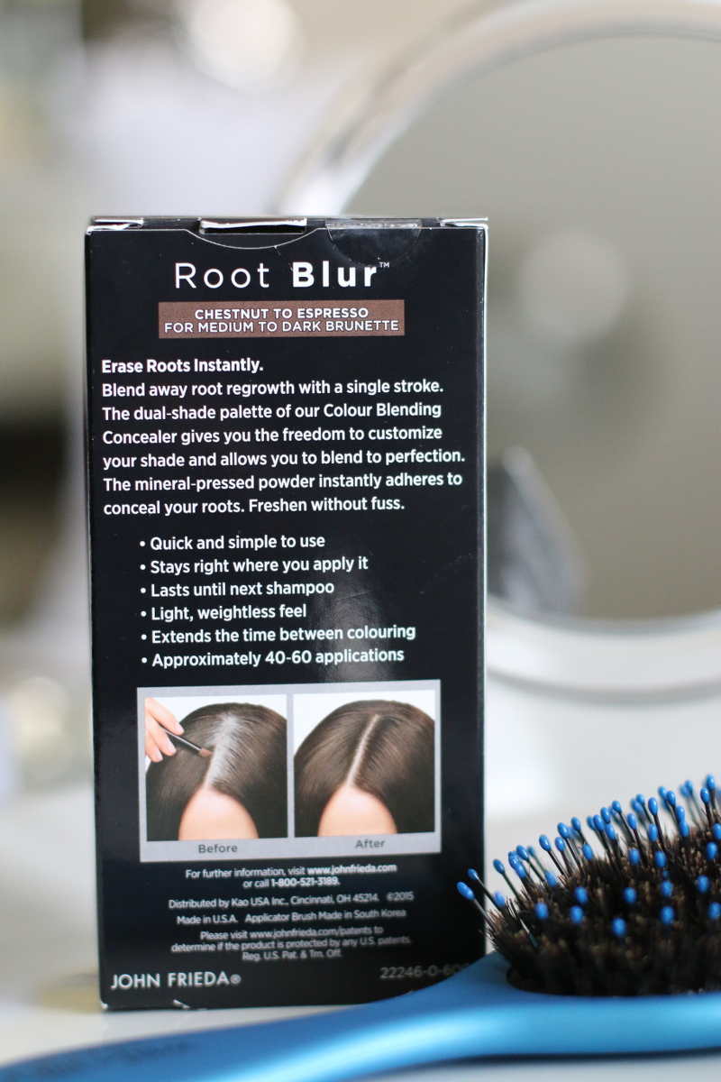 John Frieda Root Blur, hair colour concealer