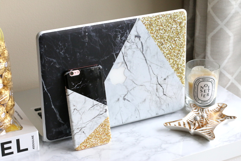 marble, custom iPhone case, custom laptop skin