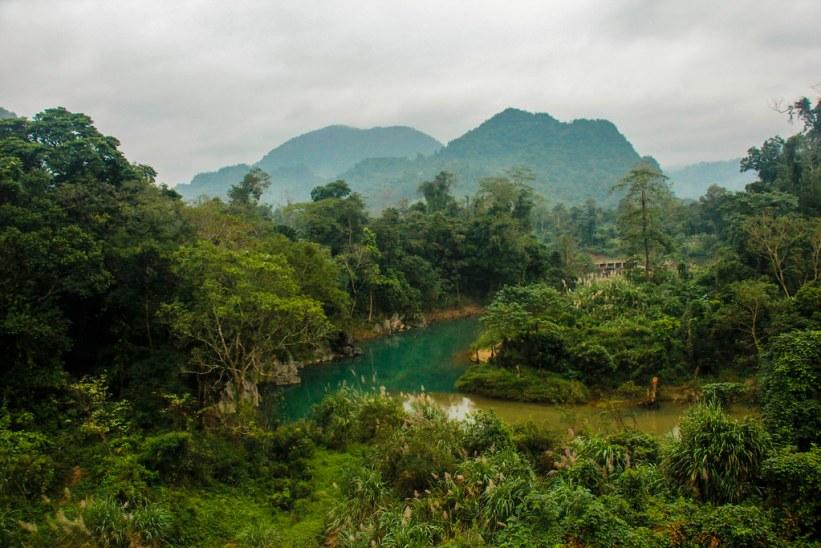 Countryside i Vietnam