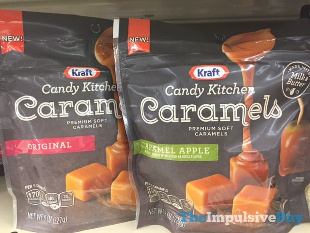 Kraft Candy Kitchen Caramels (Original and Caramel Apple)