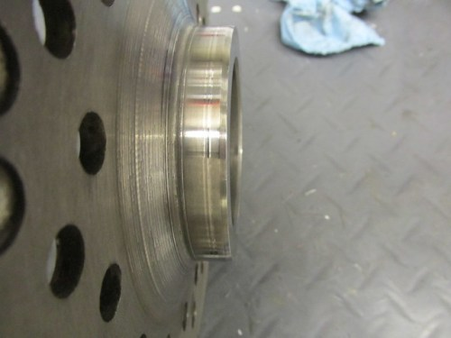 Flywheel Hub Polished