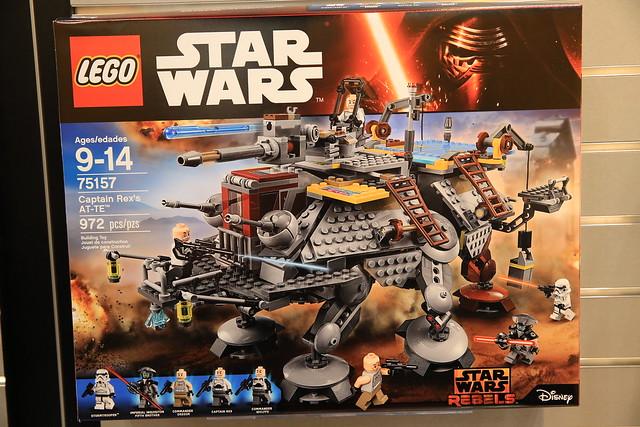 nouveautés LEGO Star Wars 2016 75157 Captain Rex's AT-TE Walker 1