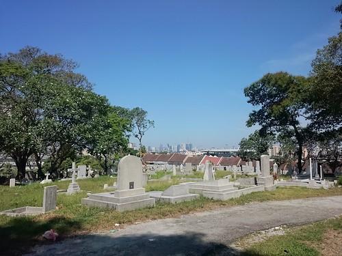 Cheras Christian Cemetery Skyline