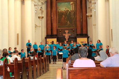 choral performance in Matanzas