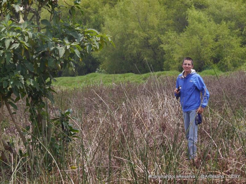 #CaminandoLaReserva recorrido por la Reserva Thomas Van Der Hammen
