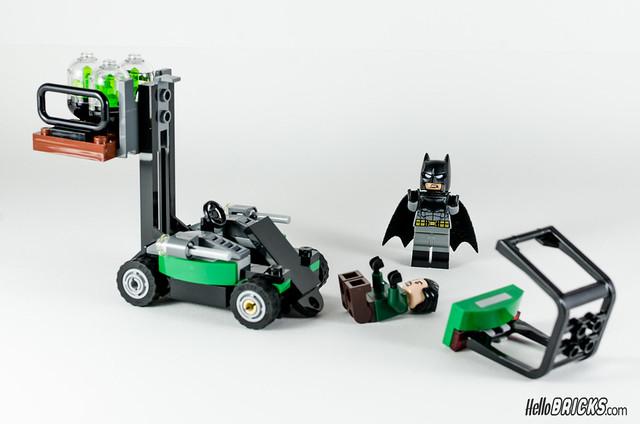 REVIEW LEGO 76045 DC Comics Batman Kryptonite Interception 18