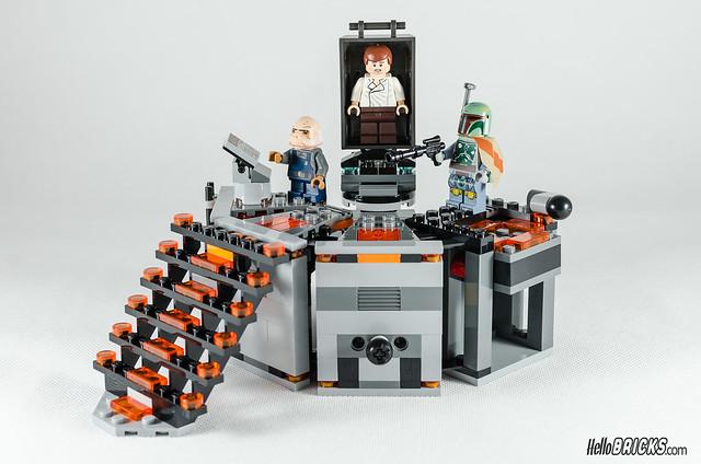 REVIEW LEGO Star Wars 75137 Carbon-Freezing Chamber 24 (HelloBricks)