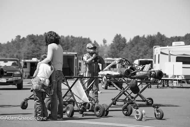 NHKA Race 1 - Canaan Speedway, New Hampshire