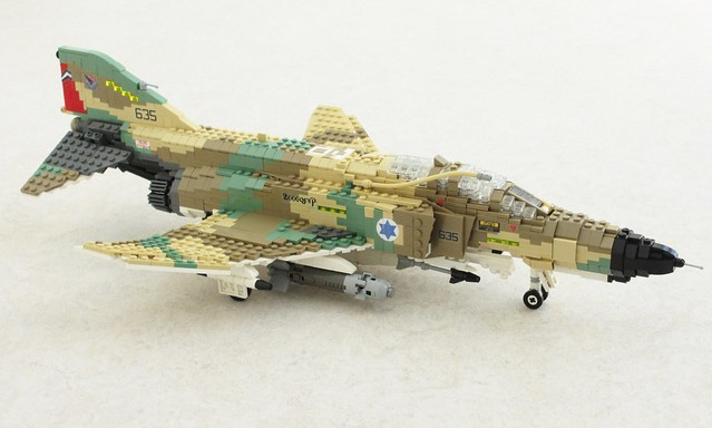F 4 Phantoms and the fine art of building camouflage   The Brothers     F 4E Kurnass 2000