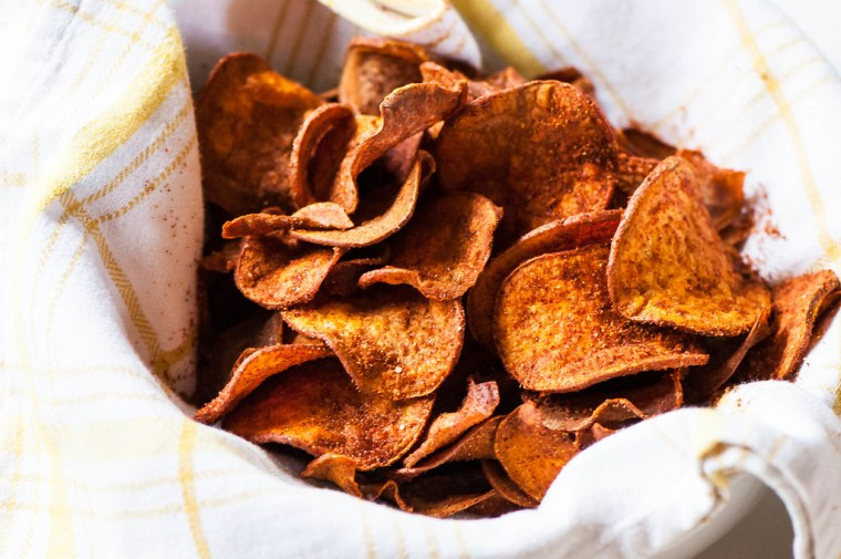 BBQ Sweet Potato Chips