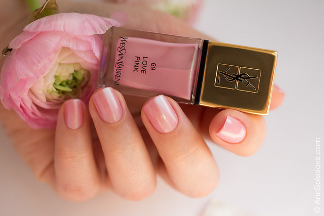 06 YSL #69 Love Pink Ann Sokolova swatches