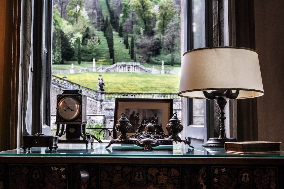 Villa della Porta Bozzolo (interni)