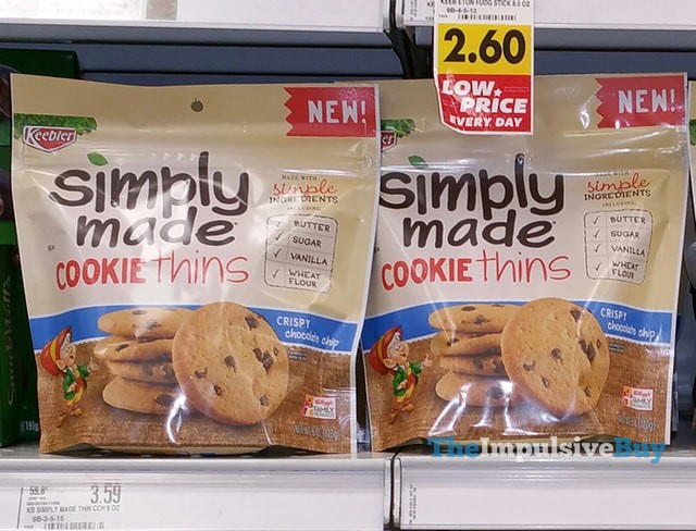 Keebler Simply Made Crispy Chocolate Chip Cookie Thins