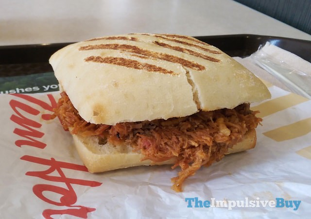 Tim Hortons Pulled Pork Sandwich