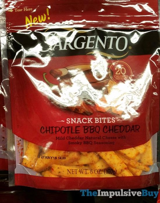 Sargento Chipotle BBQ Cheddar Snack Bites