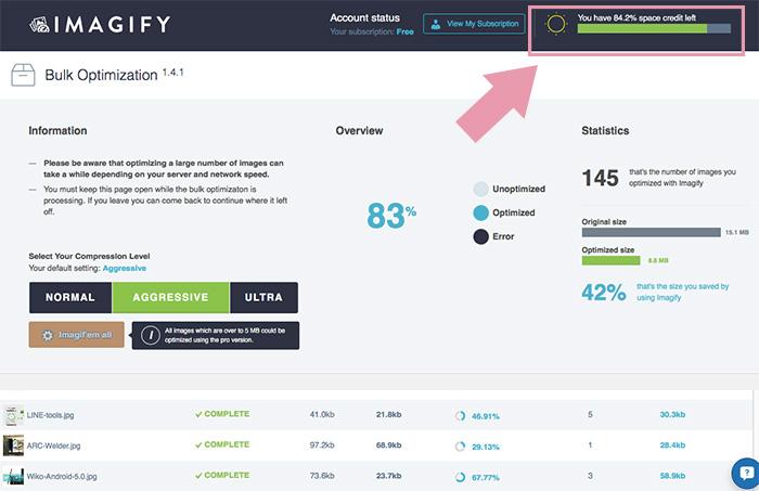Imagify Image Optimizer